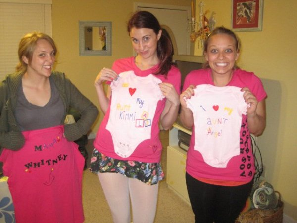 Made onesies for my niece when she was born