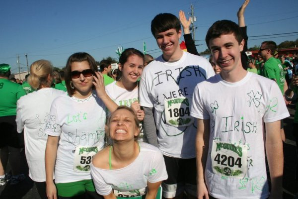 St. Patrick's Day T-Shirts for a run we were in