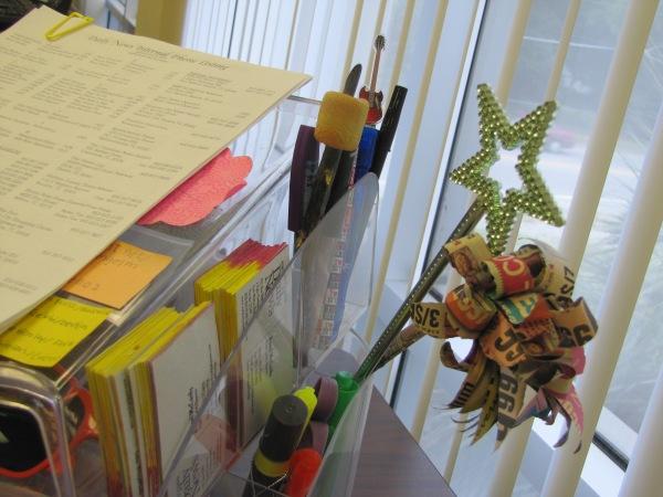creative work desk